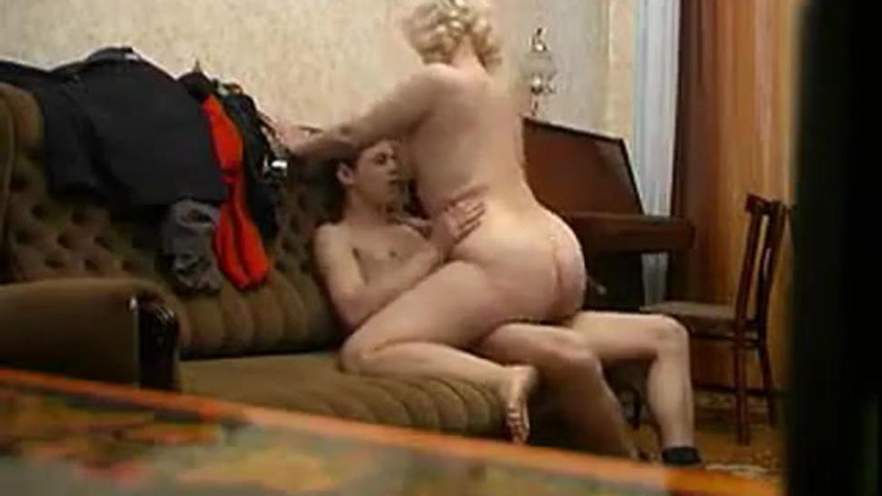 Mature Mom and her boy Amateur