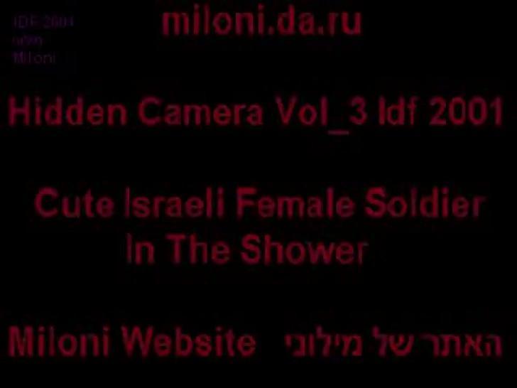 Amateur/virgin/the vol 3 full nude shower israeli