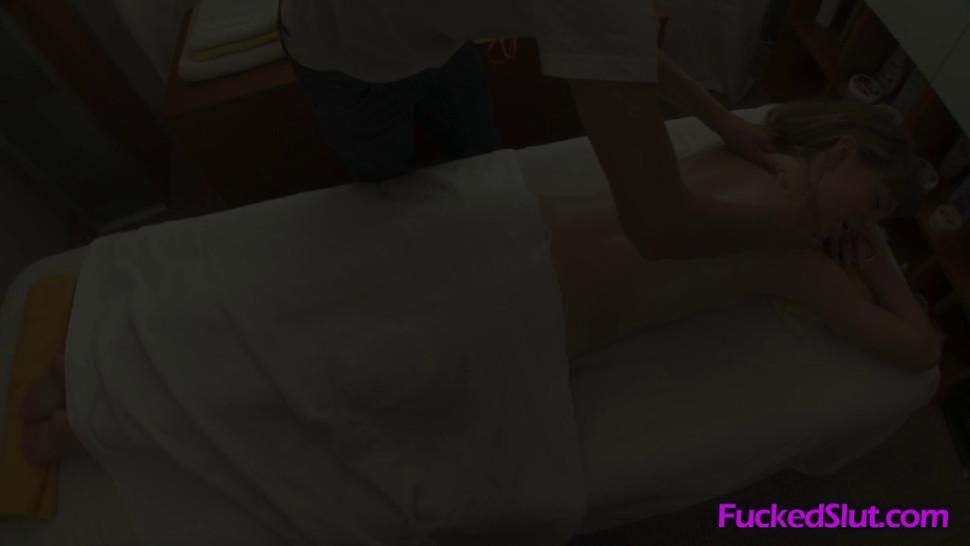 Dont massage my back, massage my pussy - video 1