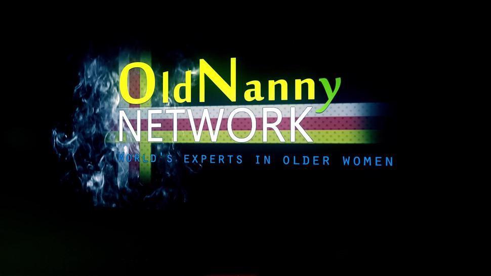 OldNannY Auntie Trisha Lesbian Party Masturbation