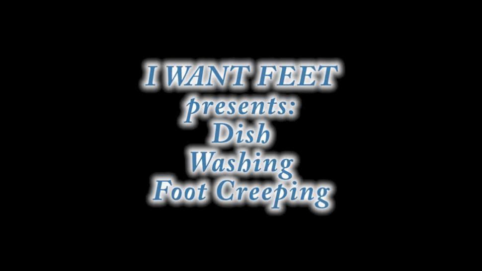 Foot Worship 10 - Dish Washing Worship