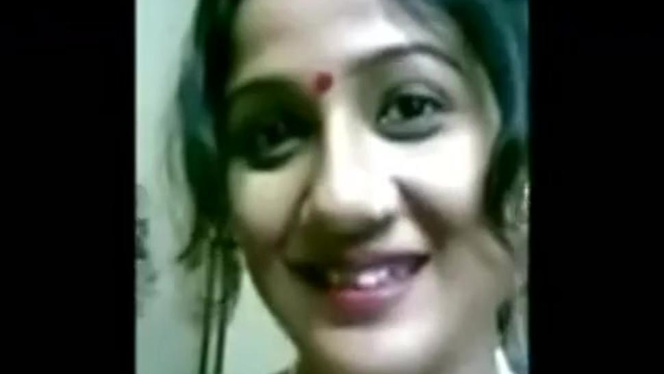 Beautiful Indian wife changing the clothes