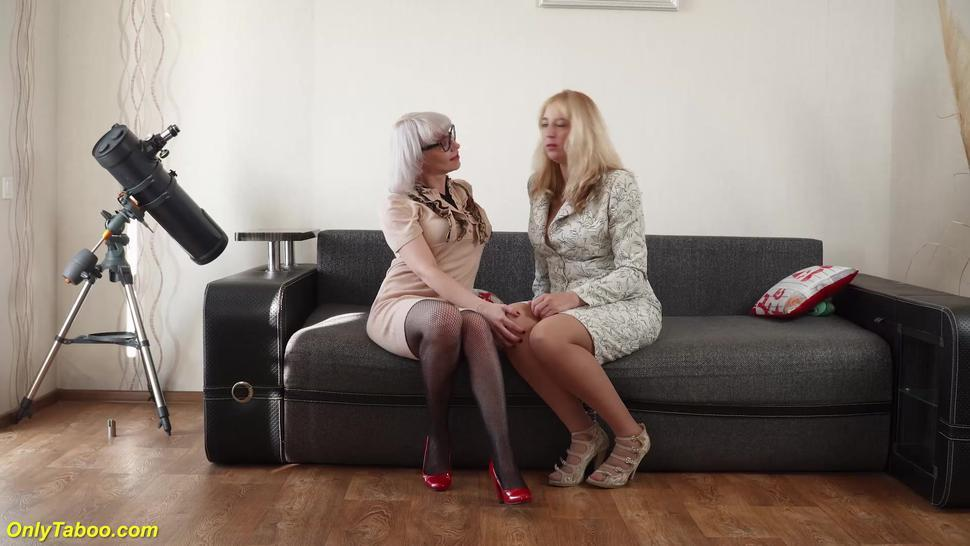 ONLYTABOO - her first wild lesbian family therapy orgy