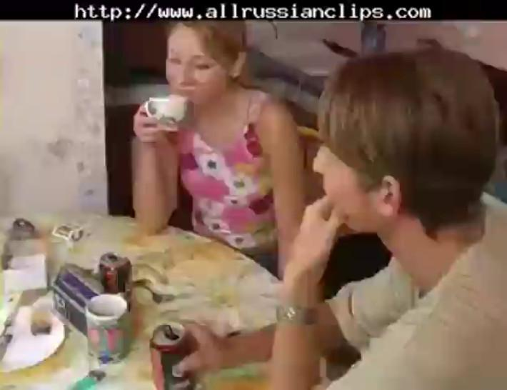 Young Russian With Two Boys! russian cumshots swallow - video 1