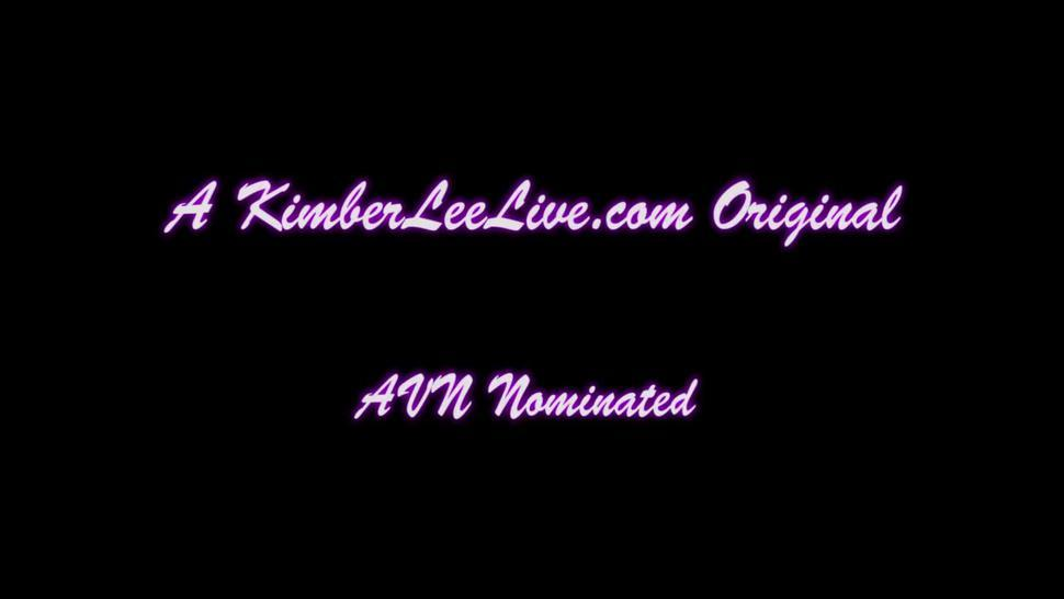Busty Teen Kimber Lee Masturbates in Front of Window!
