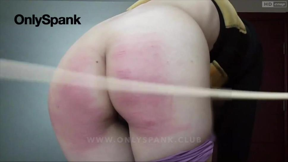 chinese girl rough spanking and caing at home