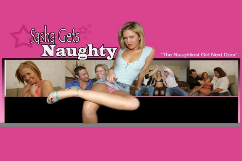 SASHA GETS NAUGHTY / FRANKIE BANK - Naughty Housewife Next Door