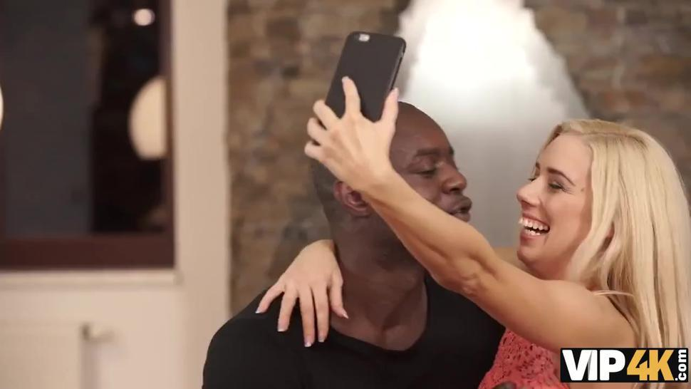 VIP4K. Caring black lover knows how to make his girlfriend happy