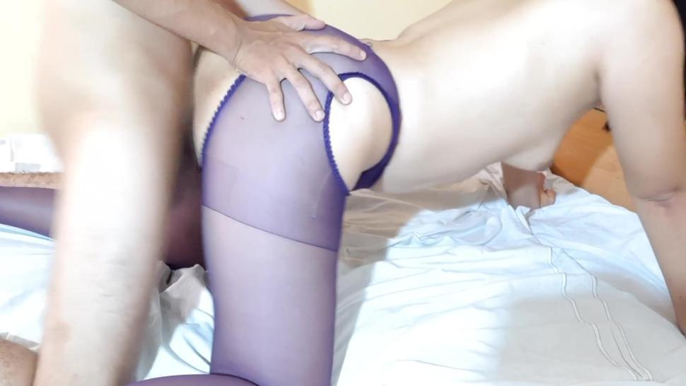 Quickie Doggystyle With My Stepmother On Pantyhose (Pt.2)