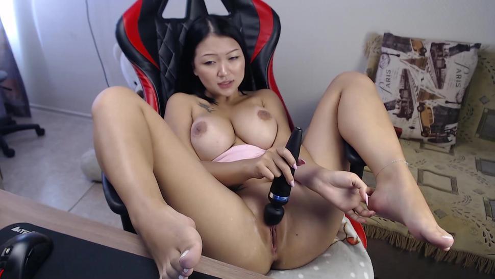Big natural boobs asian squirting many times