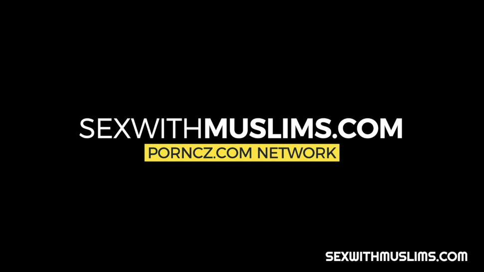 Muslim thanks her husband with amazing screw