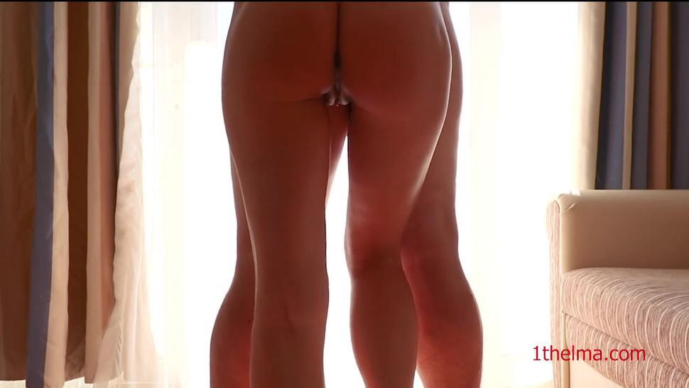 horny couple screw in the seaside vacation in the hotel room. Holiday video