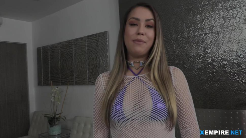 Babe cums multiple times while being fucked hard