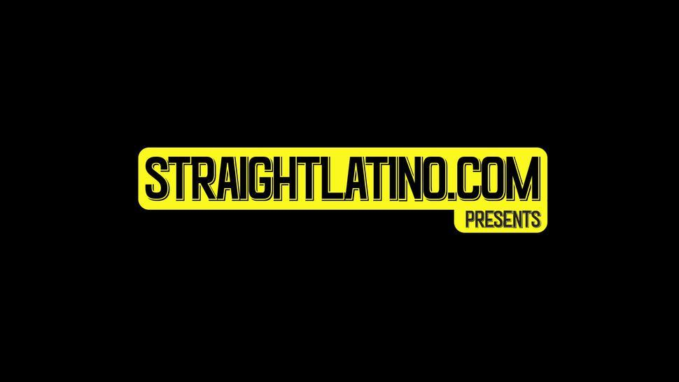 STRAIGHT LATINO - Straight Latins bareback and cum for the first time on cam