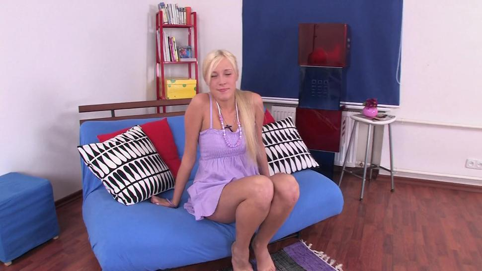 Russian Blonde Anal - Teena Lipoldino