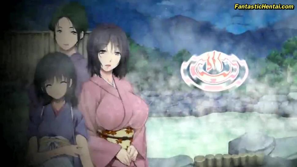 Horny Hot Water Intercourse [Eroge Hentai CG Game]