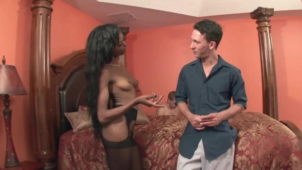 BLACK GIRL AND HER SLAVE