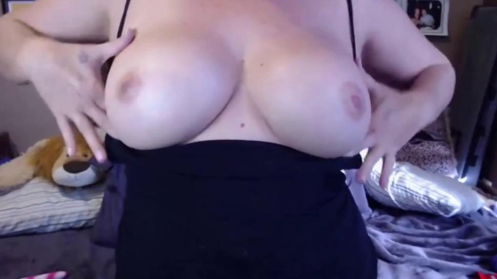 Hairy mom Joclyn with big tits and lots of role play - video 1