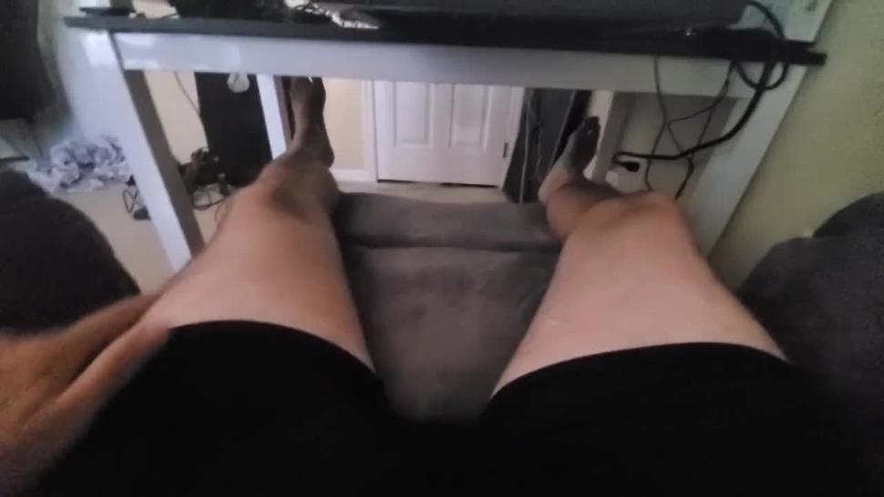 Fathers Day Special: Jerk Daddy In His Underwear, Pull It Out And Suck N Screw Cum Out