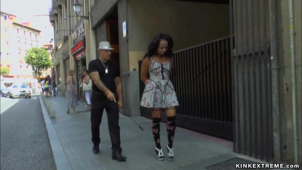 Hd/the on streets disgraced slut