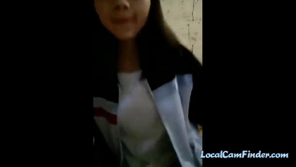 Korean college student solo video