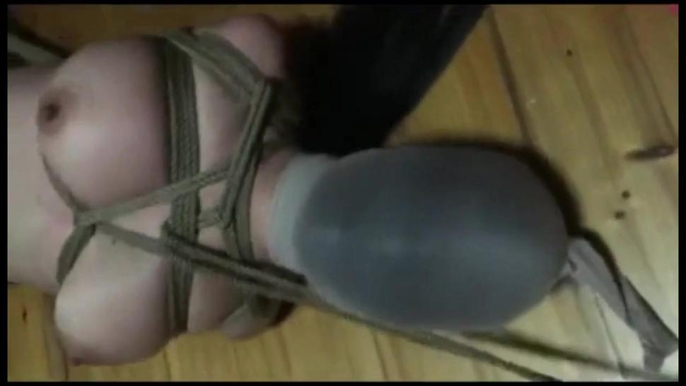 tied squirming sub Suzanne