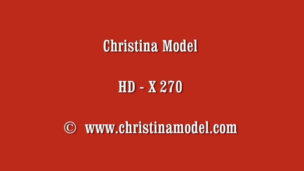 CHRISTINA MODEL PIERCED CLIT