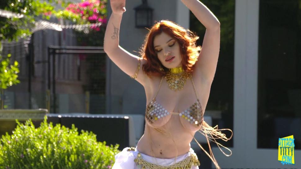 Annabel Redd Busty Belly Danser Rule The World.mp4
