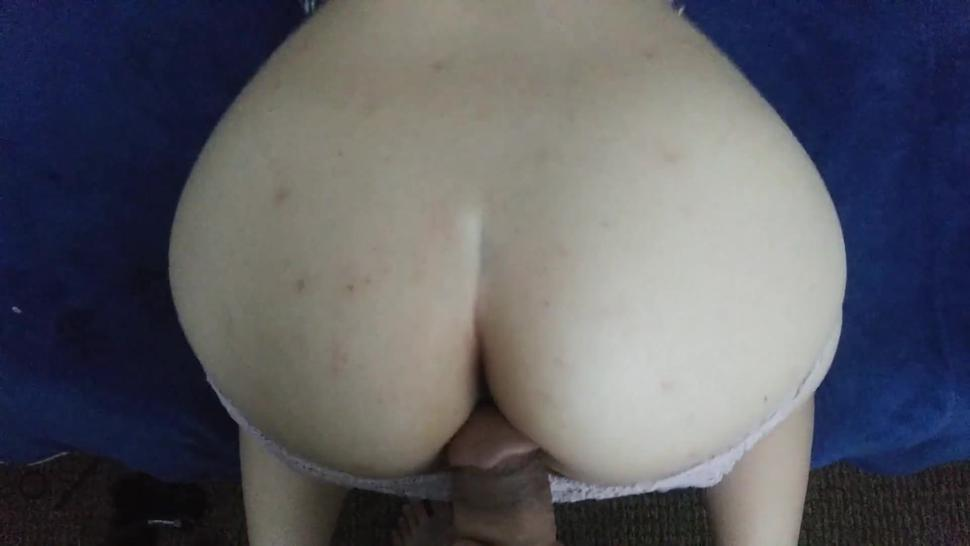 White Dick Pleases Asian Wife