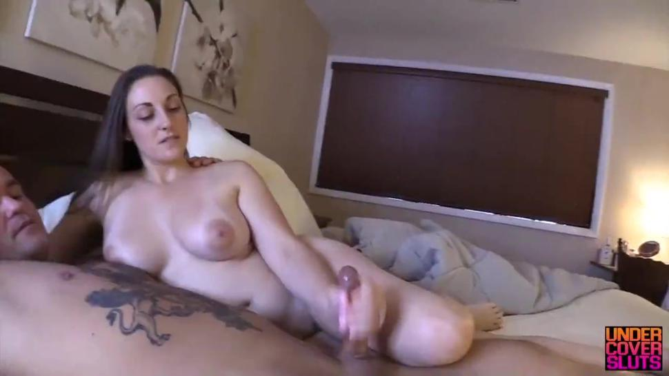 Son finds out his stepmother is an escort and fucks her