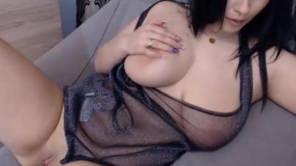 chilling boobs out return in sexy dress