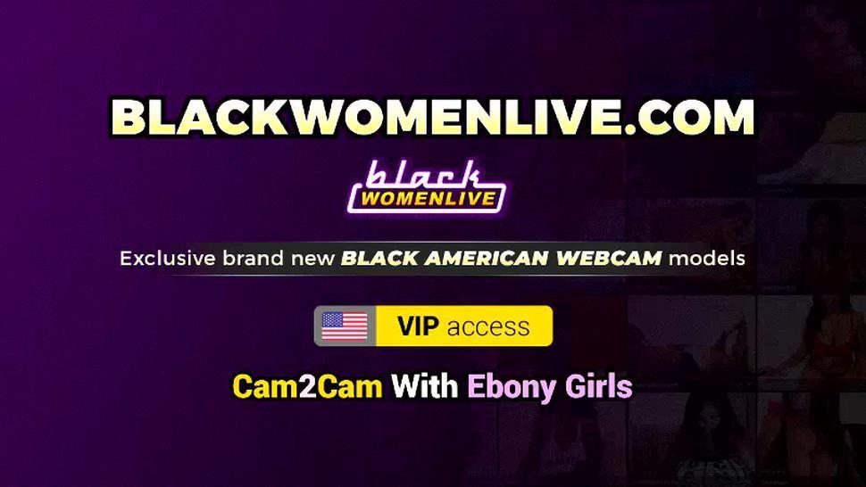 BAD BLACK BABES - Intense Fucking For Black Babe Karmin Renee Jizzed On