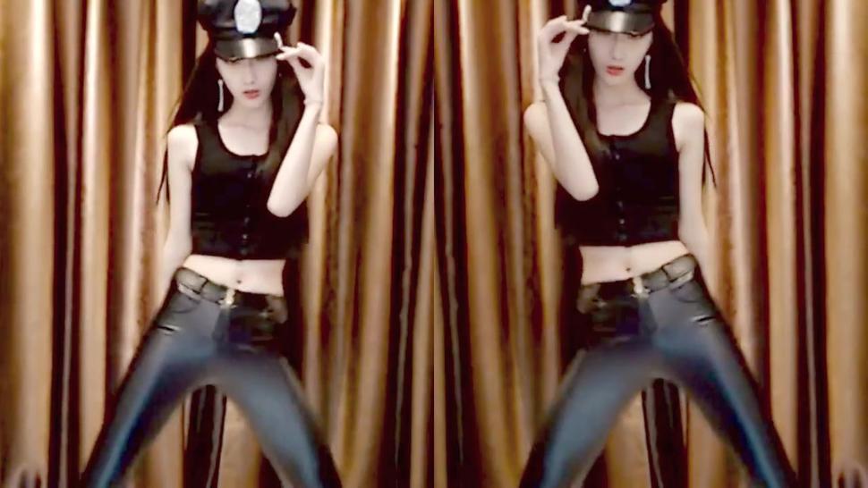 Petite Sexy Asian Shiny Leggings Dancing [Remix, Edit]