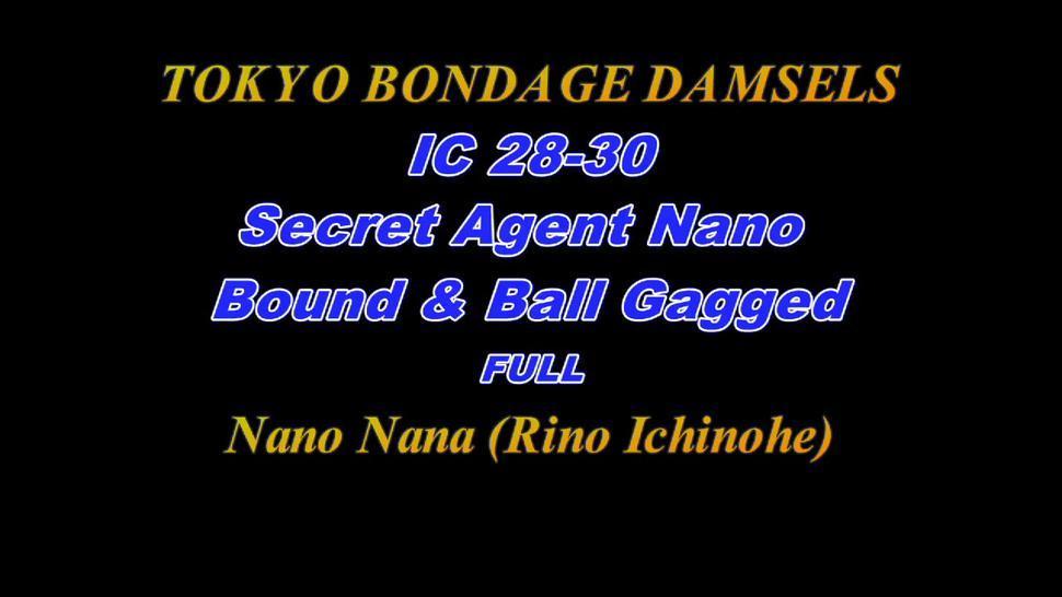 Tokyo Bondage Secret Agent Nano Bound & Ball Gagged