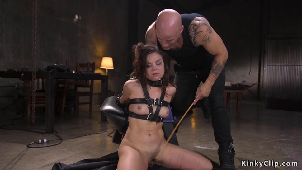 Slut anal fucked and electro shocked