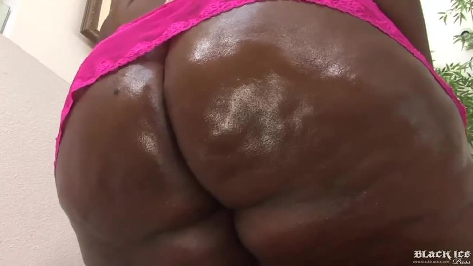 Black Beauty BBW Getting Fucked & Drilled By Black BBC Savagely