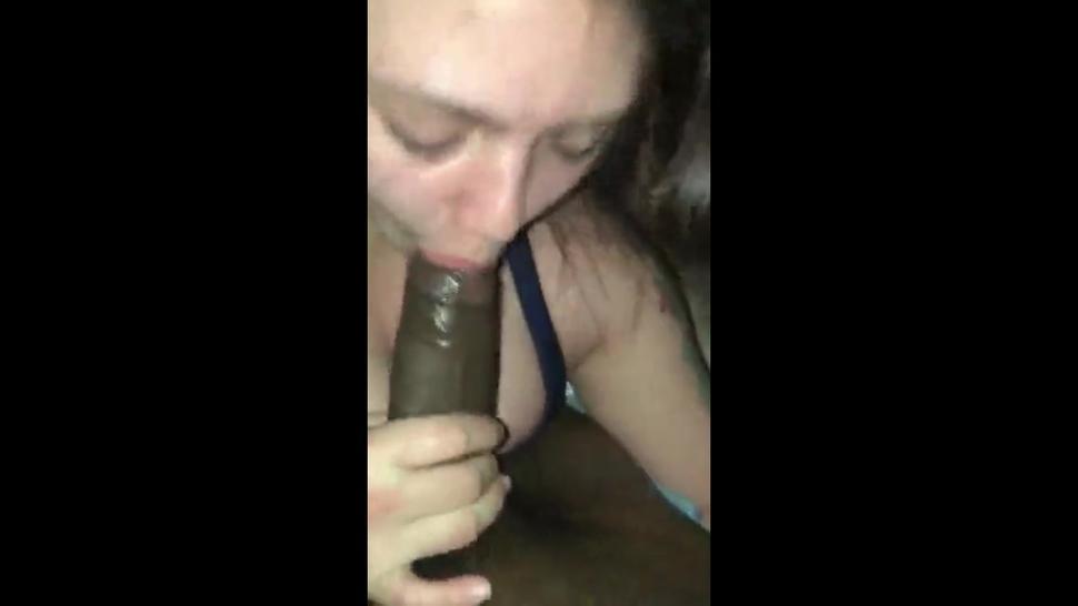 Sexy girl having a BBC to have fun