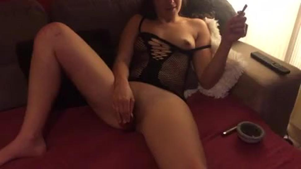 My Young Wife Screw Herself With Red Dildo