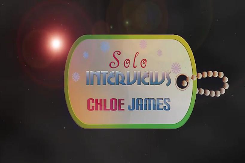 SoloInterviews Natural tits Chloe James striptease solo girl - Solo Interviews