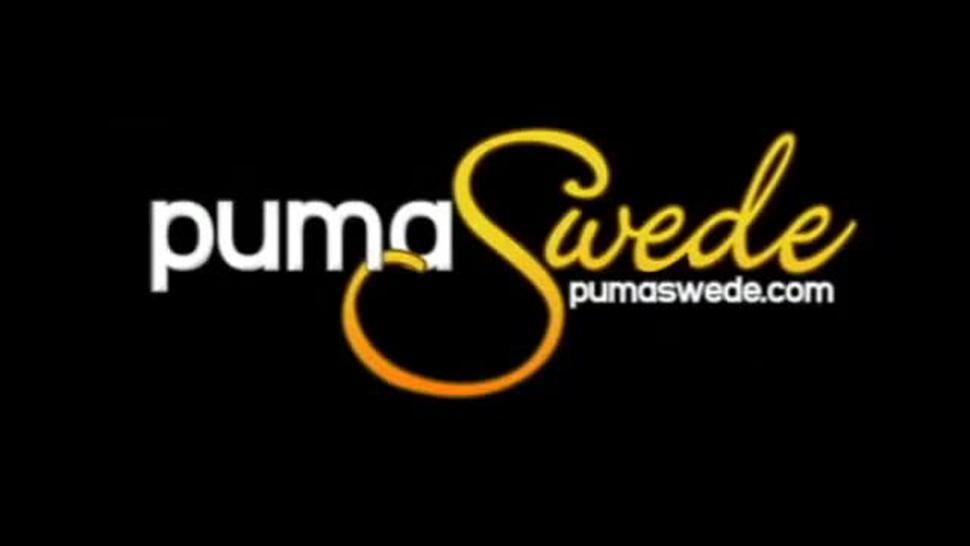 Amazing smoking fetish lesbian scene with Pum@ Swede