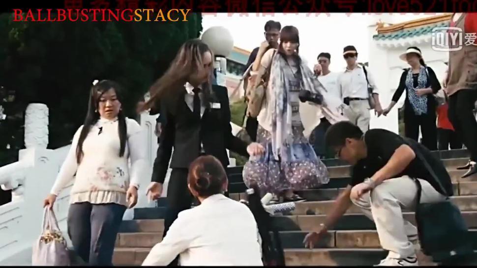 Ballbusting Movie Korean Actress Model Double Trouble Fighting Men vs Women