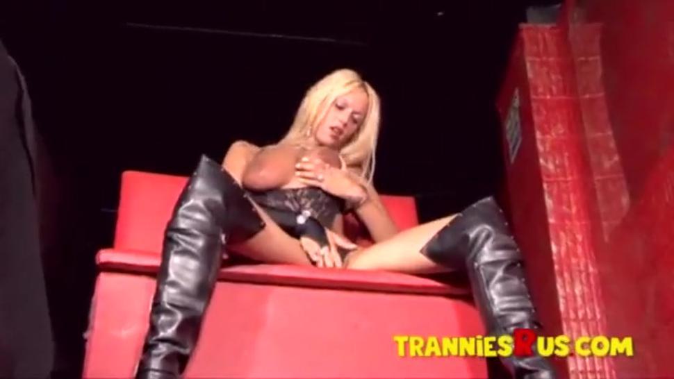 Goddess Busty Blonde Sexy Beautiful shemale Alison 2