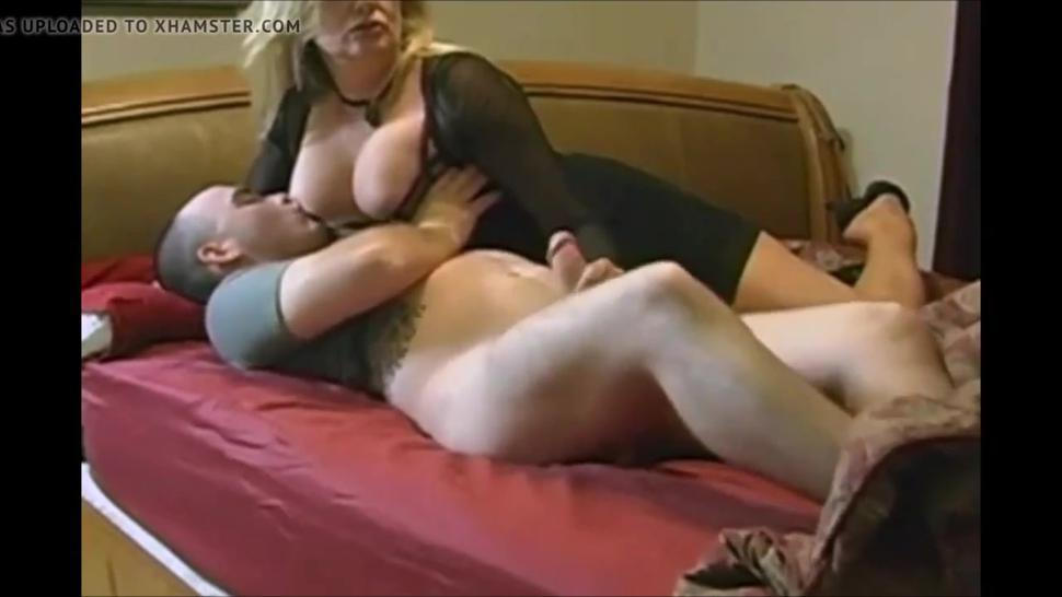 Hot breasted mom seduce a young guy very hot