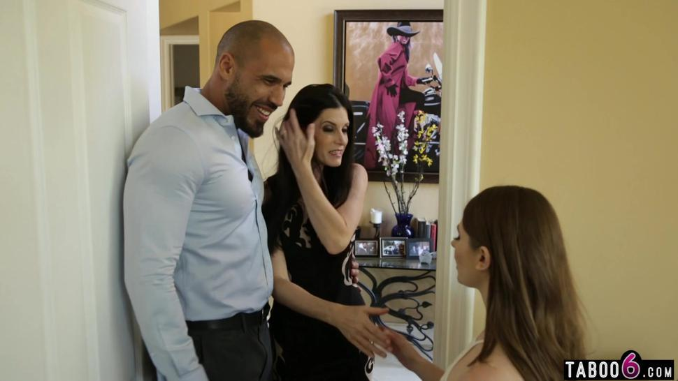 Stepdaughter Alice March interferes with new stepmom India Summer