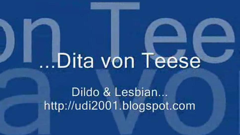 Dita Von Teese Done With Dildo
