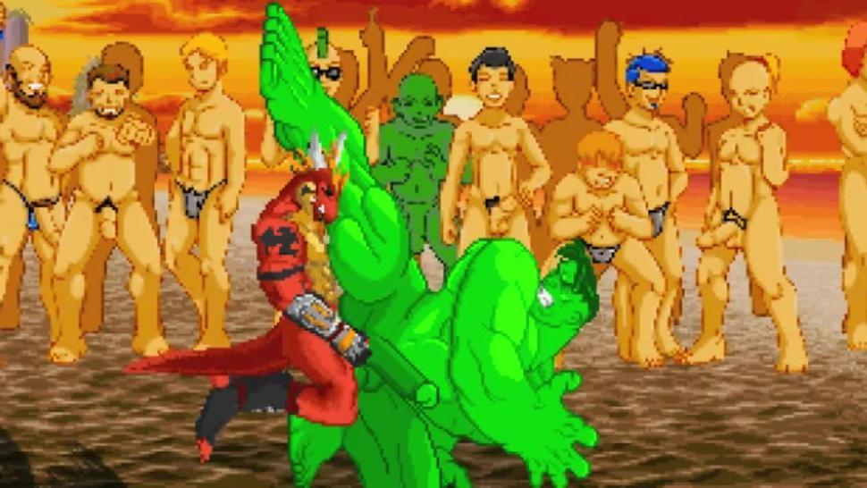 M.U.G.E.N.r-18 DEUX Presents Hulk's End Of Summer Gangbreeding Beach Party (Summer Season Finale)