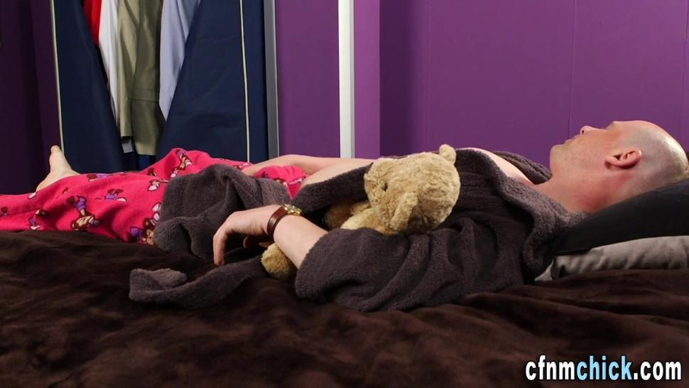 Kinky cfnm brits jerking and stroking