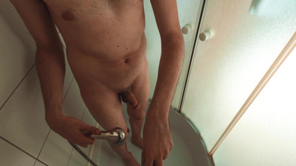 Hidden Cam Shower Spy Teen Boy With Big Dick 4K
