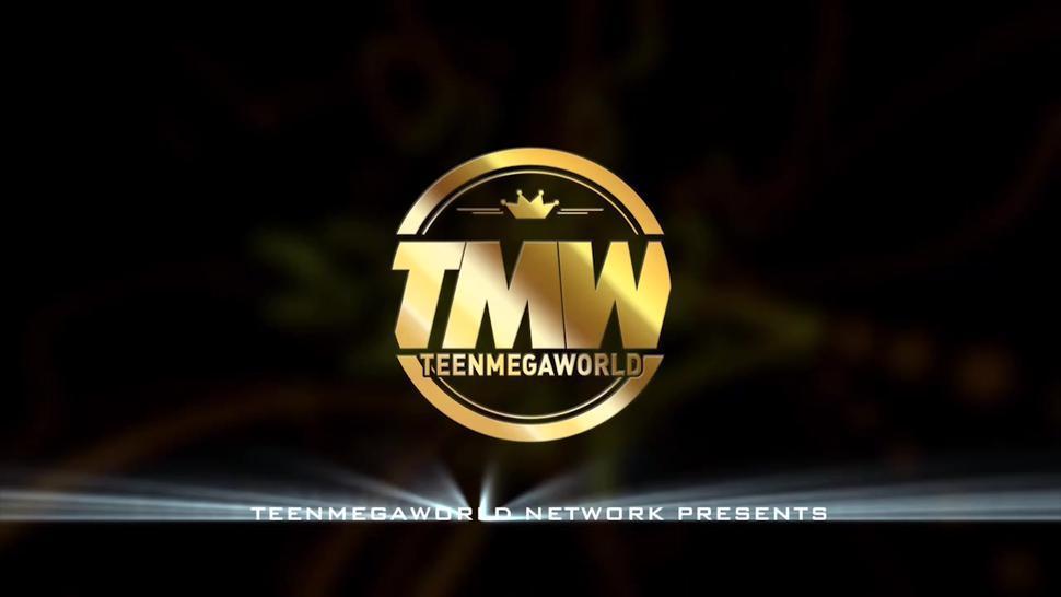 Teen Mega World - Lovers make rough sex after work