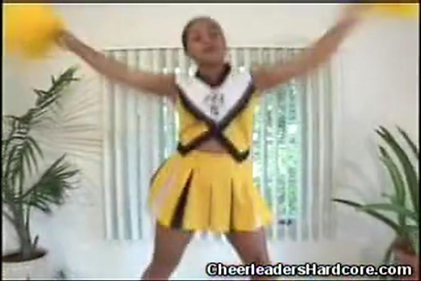 CHEERLEADERS HARDCORE - Black Cheerleader Blowjob